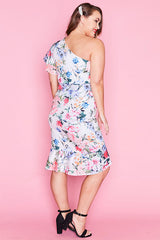 Thea White Floral Dress