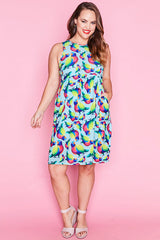 Chris Rainbow Lorikeet Dress