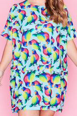 Julia Rainbow Lorikeets Dress