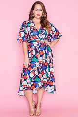 Mandy Kawaii Kristmas Wrap Dress