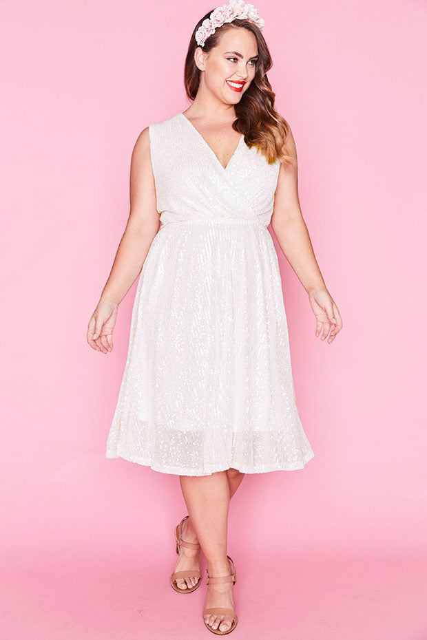 Ritz Frosted Sequin Dress