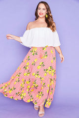 Stella Lemon Spots Skirt