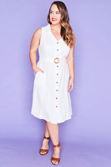 Connor White Dress