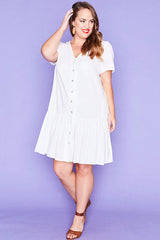 Maisie White Dress