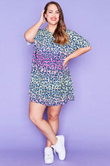 Julia Leopard Print Dress