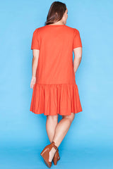 Maisie Rust Dress