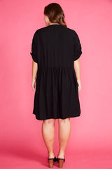 Adina Black Dress