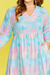 Dawn Rainbow Cloud Dress