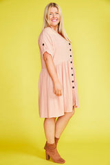 Adina Blush Dress