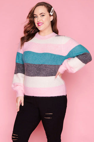 Cherish Candy Stripe Knit