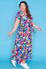 Miley Painterly Maxi Dress