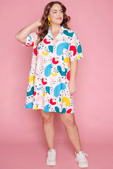 Scarlet Newtown Squiggle Dress