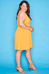 Oscar Yellow Dress