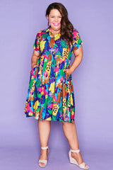 Frankie Jangal Print Dress