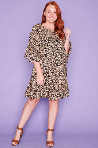 Wild Card Leopard Print Dress