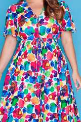 Marley Painterly Dress