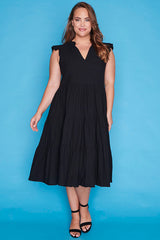 Selina Black Dress