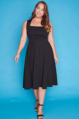 Hazel Black Dress