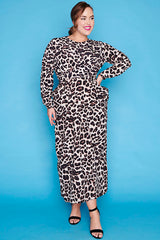 Alchemy Leopard Print Maxi Dress