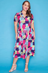 Florence Splotchy Dress