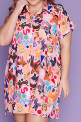 Frances Cats & Dogs Dress