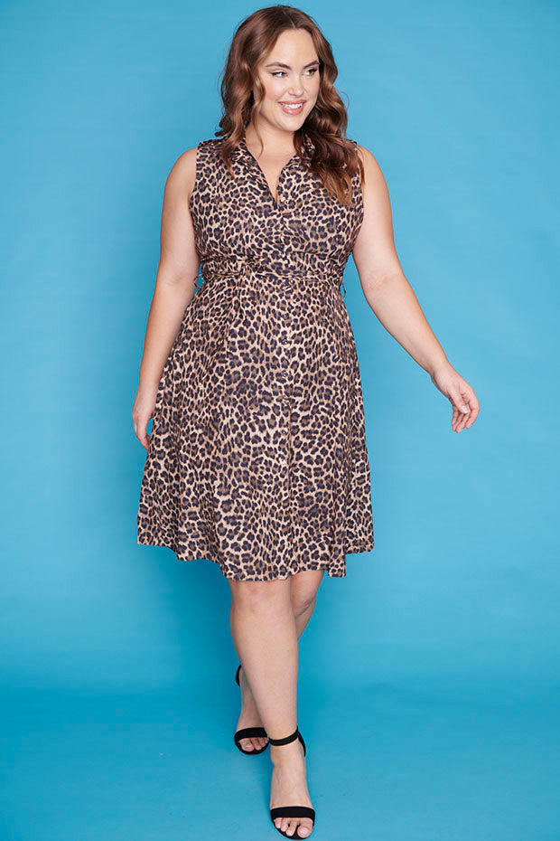Dolly Classic Leopard Dress
