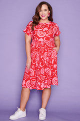 Bam Love & Rainbows Dress