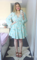 Alison Green Floral Dress