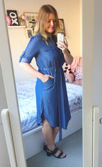 Alicia Dark Chambray Dress