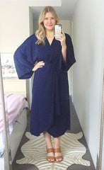 Anastasia Navy Dress