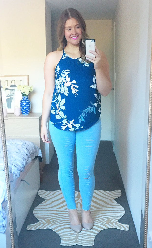 Anita Blue Print Top