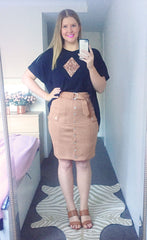 Apollo Caramel Skirt