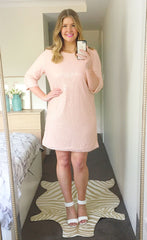 Aria Pink Sequin Dress