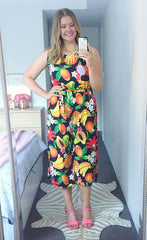 Bailey Fruit Salad Jumpsuit
