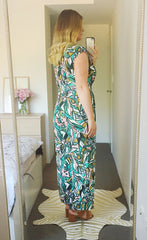 Becky Green Abstract Jumpsuit