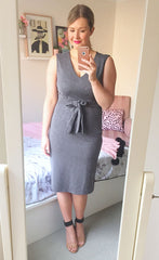 Boss Babe Grey Dress