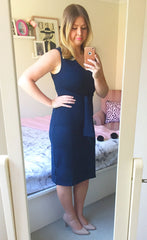 Boss Babe Navy Dress