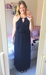 Caitlin Black Maxi Dress
