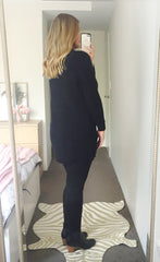Cosy Up Black Knit