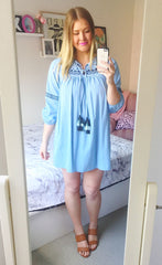 Daisy Blue Chambray Dress
