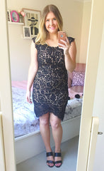 Dorothy Black Lace Dress