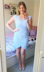 Dorothy Blue Lace Dress