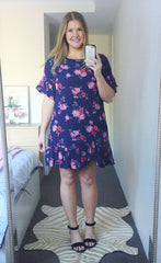 Ellie Spotty Floral Dress