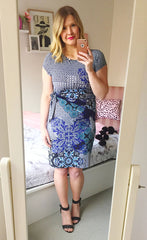 Evelyn Print Dress