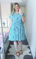 Frankie Mint Teacher Dress