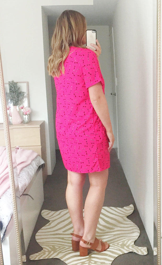 Friday Pink Bows Dress