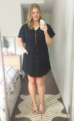 Gemma Black Dress