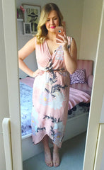 Hideaway Blush Floral Maxi Dress