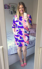 Holly Bird Print Dress