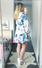 Hope White Floral Dress